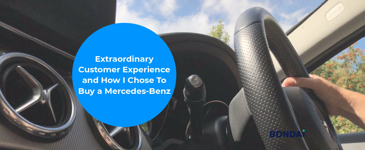 Extraordinary Customer Experience and How I Chose To Buy a Mercedes-Benz Featured Image