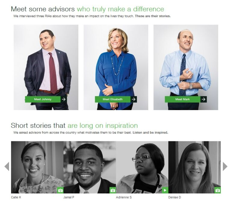 ameritrade influence marketing campaign