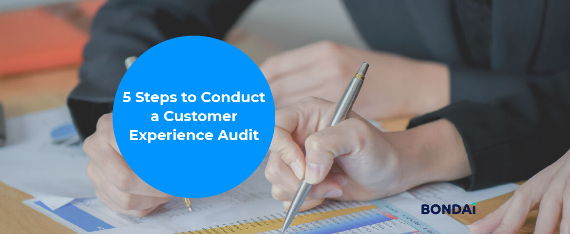 5 Steps to Conduct a Customer Experience Audit Featured Image
