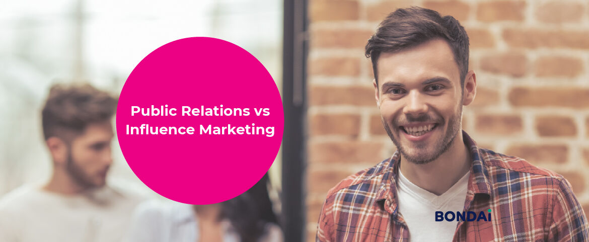 Public Relations vs Influence Marketing Featured Image