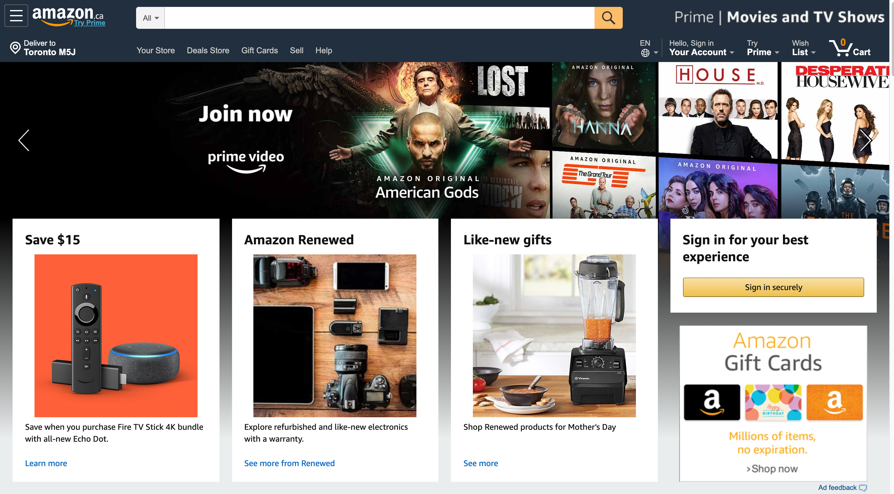 Amazon and the customer experience