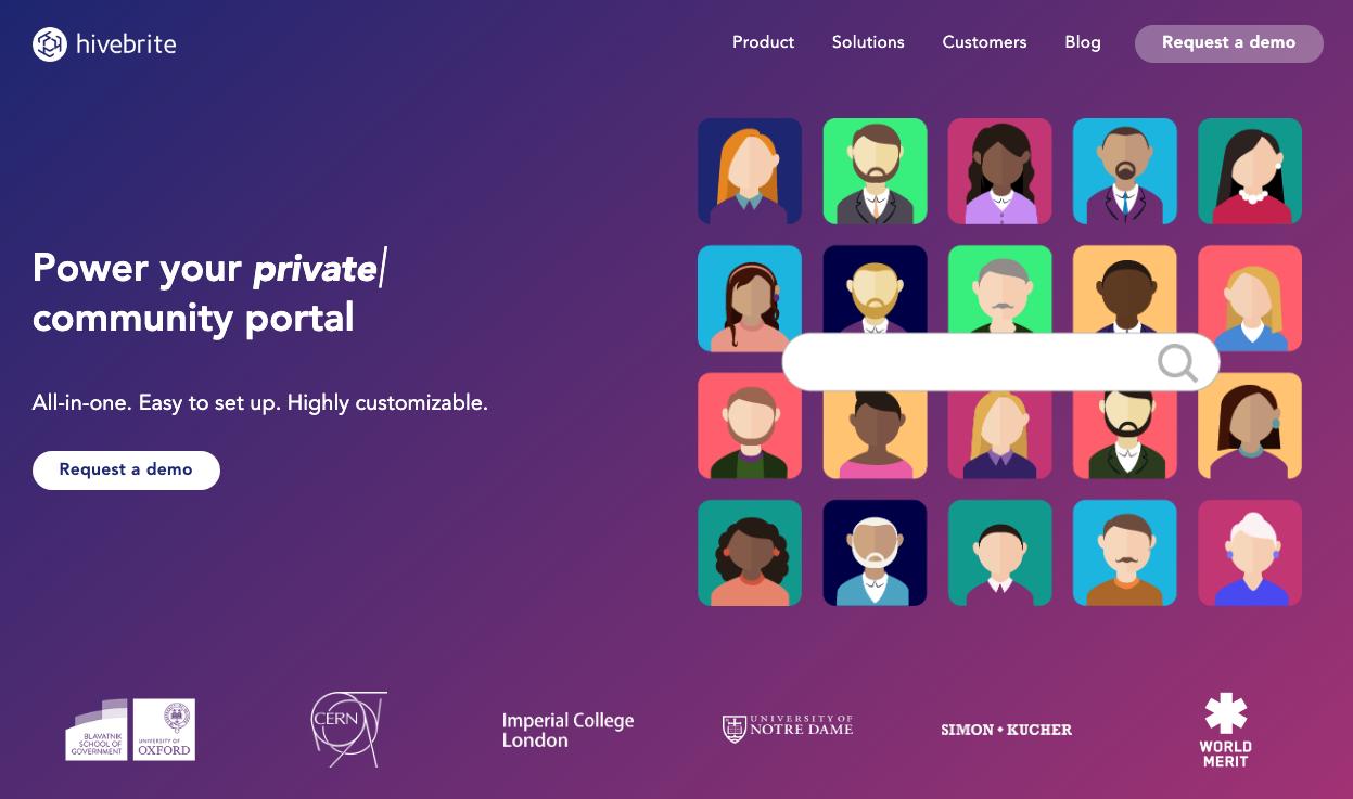 hivebrite community software